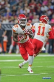 HOUSTON, TX - OCTOBER 08: Kansas City Chiefs running back Kareem Hunt (27) during the game between the Houston Texans and Kansas City Chiefs on October 8, 2017, at NRG Stadium in Houston, TX. (Photo by George Walker/DFWsportsonline)