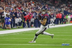 HOUSTON, TX - OCTOBER 08: Houston Texans wide receiver Will Fuller (15) runs to the end zone during the game between the Houston Texans and Kansas City Chiefs on October 8, 2017, at NRG Stadium in Houston, TX. (Photo by George Walker/DFWsportsonline)