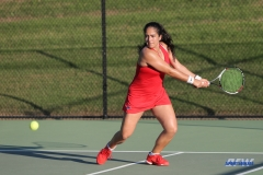 DALLAS, TX - OCTOBER 13: Sarai Monarrez Yesaki of SMU during the ITA Regional tournament on October 13, 2017, at the Bayard H. Friedman Tennis Center in Fort Worth, TX. (Photo by George Walker/DFWsportsonline)