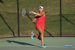 DALLAS, TX - OCTOBER 13: Ana Perez-Lopez of SMU during the ITA Regional tournament on October 13, 2017, at the Bayard H. Friedman Tennis Center in Fort Worth, TX. (Photo by George Walker/DFWsportsonline)