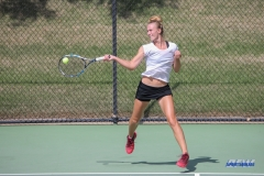 DALLAS, TX - OCTOBER 13: Maria Kononova of UNT during the ITA Regional tournament on October 13, 2017, at the Bayard H. Friedman Tennis Center in Fort Worth, TX. (Photo by George Walker/DFWsportsonline)