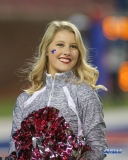 DALLAS, TX - OCTOBER 27: SMU Pom Squad member during the game between SMU and Tulsa on October 27, 2017, at Gerald J. Ford Stadium in Dallas, TX. (Photo by George Walker/DFWsportsonline)