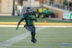 DENTON, TX - OCTOBER 28: North Texas Mean Green running back Evan Johnson (26) during the game between the North Texas Mean Green and Old Dominion Monarchs on October 28, 2017, at Apogee Stadium in Denton, Texas. (Photo by George Walker/DFWsportsonline)