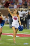 DALLAS, TX - NOVEMBER 04: SMU Pom Squad member performs during the game between SMU and UCF on November 4, 2017, at Gerald J. Ford Stadium in Dallas, TX. (Photo by George Walker/Icon Sportswire)