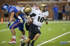 DALLAS, TX - NOVEMBER 04: UCF Knights quarterback McKenzie Milton (10) scrambles during the game between SMU and UCF on November 4, 2017, at Gerald J. Ford Stadium in Dallas, TX. (Photo by George Walker/Icon Sportswire)