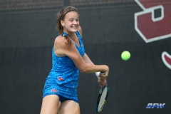 DALLAS, TX - NOVEMBER 04: Liza Buss during the SMU women's tennis Red and Blue Challenge on November 4, 2017, at the SMU Tennis Complex, Turpin Stadium & Brookshire Family Pavilion in Dallas, TX. (Photo by George Walker/DFWsportsonline)