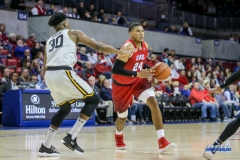 DALLAS, TX - NOVEMBER 10: Southern Methodist Mustangs forward Everett Ray (24) during the men's basketball game between SMU and UMBC on November 10, 2017, at Moody Coliseum, in Dallas, TX. (Photo by George Walker/DFWsportsonline)