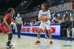 DALLAS, TX - NOVEMBER 10: during the women's basketball game between SMU and Nicholls on November 10, 2017, at Moody Coliseum, in Dallas, TX. (Photo by George Walker/DFWsportsonline)