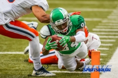 Denton, TX - November 11: North Texas Mean Green wide receiver Jaelon Darden (84) during the game between the North Texas Mean Green and UTEP Miners (Photo by Mark Woods/DFWsportsonline)
