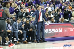 FORT WORTH, TX - DECEMBER 05: Southern Methodist Mustangs head coach Tim Jankovich gives direction during the game between SMU and TCU on December 5, 2017 at the Ed and Rae Schollmaier Arena in Fort Worth, TX. (Photo by George Walker/DFWsportsonline