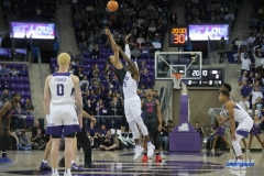 FORT WORTH, TX - DECEMBER 05: Tip-off during the game between SMU and TCU on December 5, 2017 at the Ed and Rae Schollmaier Arena in Fort Worth, TX. (Photo by George Walker/DFWsportsonline