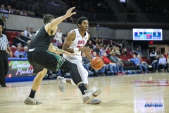 UNIVERSITY PARK, TX - DECEMBER 19: Southern Methodist Mustangs guard Jimmy Whitt (31) during the game between SMU and Cal Poly State on December 19, 2017, at Moody Coliseum in Dallas, TX. (Photo by George Walker/DFWsportsonline)