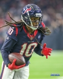 HOUSTON, TX - DECEMBER 30: Houston Texans wide receiver DeAndre Hopkins (10) runs after making a catch during the game between the Houston Texans and Jacksonville Jaguars on December 30, 2018, at NRG Stadium in Houston, TX. (Photo by George Walker/DFWsportsonline)