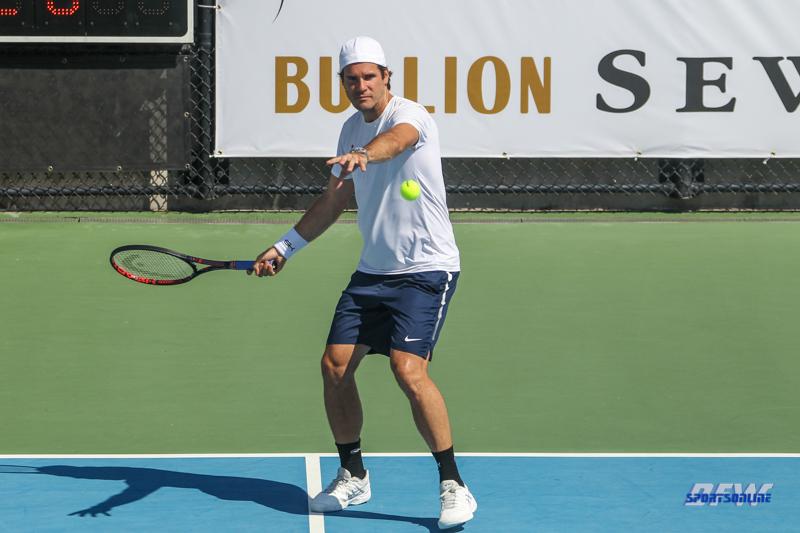 DALLAS, TX - SEPTEMBER 15: Dirk Nowwitzki Pro Celebrity Tennis Classic on September 15, 2018, at the SMU Tennis Complex, Turpin Stadium & Brookshire Family Pavilion in Dallas, TX. (Photo by George Walker/DFWsportsonline)