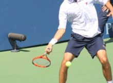 Marin Cilic at the 2009 US Open. Photo by George Walker.