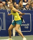 Maria Sharapova at the Regions Morgan Keegan Championships. Photo by George Walker.