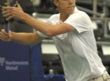 Sam Querrey at the Regions Morgan Keegan Championships. Photo by George Walker.