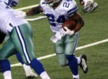 Marion Barber. Photo by George Walker.