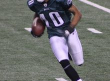 DeSean Jackson had over 200 yards against the Dallas Cowboys Dec. 12, 2010. Photo by George Walker